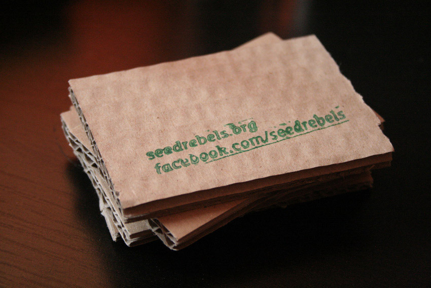 Sustainable Business Cards - From a Visual StandpointFrom a Visual ...